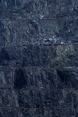 The Dinorwic Slate Quarry with incline on the side of Elidir Fawr, Llyn Peris lake, Padarn Country Park, Llanberis, Gwynedd. The quarry- the second biggest in the world- closed in 1969 it is now part... - John Harris - 2010s,2013,ACE,capitalism,capitalist,closed,closing,closure,closures,Culture,EBF,Economic,Economy,Industries,industry,maker,makers,making,mine,mineral extraction,MINES,Mountain Range,mountainous,mount