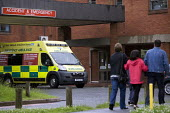 A&E unit at Alexandra Hospital, Redditch, Worcestershire - John Harris - 10-07-2012