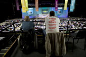 Disabled GMB members from Remploy listening to the debate 2012 TUC Congress Brighton - John Harris - 11-09-2012