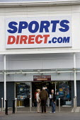 A former JJB Sports store already taken over by Sports Direct, Stratford upon Avon. 133 shops have been closed with a loss of 3000 jobs in the sale to Sports Direct. - John Harris - 02-10-2012