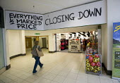 A closing down sale at a JJB Sports shop, before they close to be reopened and rebranded as Sports Direct Leamington Spa. 133 shops have been closed with a loss of 3000 jobs in the sale to Sports Dire... - John Harris - 02-10-2012