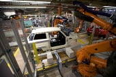 BMW Group Mini production line, Cowley, Oxford - John Harris - 2010s,2012,assembly,AUTO,auto industry,automated,AUTOMATIC,automation,AUTOMOBILE,AUTOMOBILES,Automotive,BMW,capitalism,capitalist,car,Car Industry,carindustry,cars,EBF,Economic,Economy,FACTORIES,facto