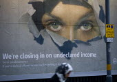 We're Closing In On Undeclared Income, If you have declared all your income you have nothing to fear. HM Revenue and Customs Tax evasion and benefit fraud poster intended to frighten the public into d... - John Harris - 27-01-2010