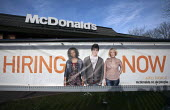 Hiring now, Fast food chain McDonald's is creating 2500 new jobs in the UK this year following the 3500 new employees they hired last year. Banbury - John Harris - 26-01-2013