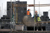 Construction of new social housing, Stratford-upon-Avon, Warwickshire - John Harris - 28-02-2013