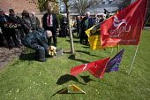 Laying of floral wreaths, International Worker's Memorial Day commemoration, Coventry - John Harris - 28-04-2013