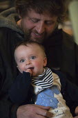 A father with his first baby at 7 months - John Harris - 14-05-2013