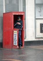 A Newspaper seller, Dudley High St. - John Harris - 17-06-2013