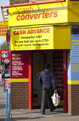 Cash Converters, a chain of second hand shops, also offering payday loans, cash advances, short term personal loans and pawnbrokers services. Kings Heath, Birmingham. - John Harris - 26-06-2013