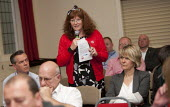 Question and Answer session, People United Bus Tour, Coventry - John Harris - 01-07-2013