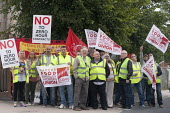 BFAWU members on strike at Hovis (Premier Foods) Wigan over the introduction of agency staff on Zero Hours contracts, redundancies and a reduction in hours from 52 to 40 per week. - John Harris - 2010s,2013,agency,BFAWU,DISPUTE,DISPUTES,EARNINGS,EQUALITY,Income,INCOMES,INDUSTRIAL DISPUTE,industrial relations,inequality,living wage,low pay,Low Income,low paid,low pay,Marginalised,member,member