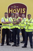Mangement watch BFAWU members on strike at Hovis (Premier Foods) Wigan over the introduction of agency staff on Zero Hours contracts, redundancies and a reduction in hours from 52 to 40 per week. - John Harris - ,2010s,2013,agency,BFAWU,DISPUTE,DISPUTES,EARNINGS,EQUALITY,Income,INCOMES,INDUSTRIAL DISPUTE,industrial relations,inequality,living wage,low pay,Low Income,low paid,low pay,management managing manage