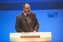 Dave Penman FDA Gen Sec, TUC, Bournemouth 2013 - John Harris - 09-09-2013