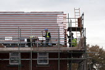 Building site, new homes Worcestershire - John Harris - 25-11-2013