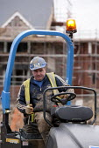 Housebuilding, Warwickshire - John Harris - 2010s,2014,builder,builders,building,building site,Building Worker,BUILDINGS,Construction Industry,Construction Workers,contractor,contractors,driver,drivers,driving,EBF,Economic,Economy,employee,empl