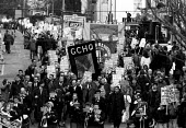 GCHQ trade unions annual march & rally for the restoration the right to organize atrades union GCHQ Cheltenham - John Harris - ,1990s,1994,ban,banned,banning,GCHQ,member,member members,members,restoration,trade union,trade union,trade unions,Trades Union,Trades Union,trades unions,worker,workers