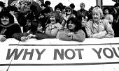 WAPC rally Chesterfield at the end of the Miners strike, International Womens Day - John Harris - 09-03-1985