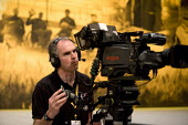 TV camera operator filming Liberal Party Conference. - John Harris - 27-01-2012