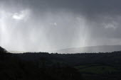 Rain over Dartmoor, Devon - John Harris - 25-02-2014