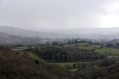 Rain over Chagford, Dartmoor, Devon - John Harris - 25-02-2014