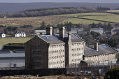 Dartmoor Prison, Devon - John Harris - 2010s,2014,bars,behind,clJ,crime,jail,jails,justice,law,penal system,penitentiary,prison,prisons,rural
