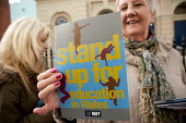 Stand up for teaching campaign, NUT International women's Day conference, Cardiff. - John Harris - 08-03-2014