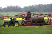Crop spraying, Worcestershire. - John Harris - 2010s,2014,agricultural,agriculture,agrochemicals,capitalism,capitalist,cereal crop,chemical,chemicals,crop,crops,driver,drivers,driving,EBF,Economic,Economy,employee,employees,Employment,eni,environm