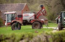 Crop spraying, Worcestershire. - John Harris - 10-04-2014