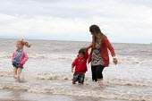St Richards C E First School trip to the seaside, Weston Super Mare, Somerset - John Harris - 04-07-2014