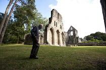 The ruins of Wenlock Priory, Much Wenlock, Shropshire - John Harris - 03-08-2014