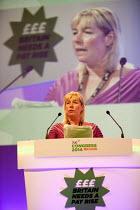 Sue Gethin, President FDA speaking, TUC, Liverpool 2014 - John Harris - 09-09-2014