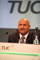Mohammad Taj President and Unite member, TUC, Liverpool 2014 - John Harris - 07-09-2014