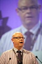 Stephen Gillian POA gen sec speaking, TUC, Liverpool 2014 - John Harris - 07-09-2014