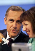 Mark Carney Governor of the Bank of England and Frances O'Grady Gen Sec TUC, TUC, Liverpool 2014 - John Harris - 2010s,2014,Bank,BANKS,conference,conferences,FEMALE,Liverpool,member,member members,members,people,person,persons,SERVICE,SERVICES,trade union,trade union,trade unions,trades union,trades union,trades