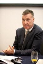 Mike Clancy Gen Sec Prospect, Prospect Fringe meeting TUC, Liverpool 2014 - John Harris - 09-09-2014
