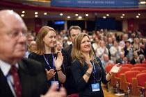 Delegates, Conservative Party Conference, The ICC Birmingham - John Harris - 29-09-2014