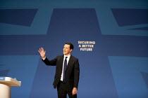 George Osborne MP speaking, Conservative Party Conference, The ICC Birmingham - John Harris - 29-09-2014