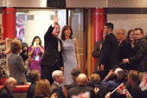 Samantha and David Cameron MP, Conservative Party Conference, ICC Birmingham - John Harris - 01-10-2014