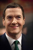 George Osborne MP, Conservative Party Conference, ICC Birmingham - John Harris - ,2010s,2014,Birmingham,conference,conferences,CONSERVATIVE,Conservative Party,conservatives,EMOTION,EMOTIONAL,EMOTIONS,Party,pol,political,POLITICIAN,POLITICIANS,politics,smile,SMILES,smiling,WELLBEIN