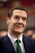George Osborne MP, Conservative Party Conference, ICC Birmingham - John Harris - 2010s,2014,Birmingham,conference,conferences,CONSERVATIVE,Conservative Party,conservatives,EMOTION,EMOTIONAL,EMOTIONS,Party,pol,political,POLITICIAN,POLITICIANS,politics,smile,SMILES,smiling,WELLBEING