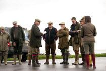 Shooting party, Porlock Weir, Somerset - John Harris - 10-11-2014