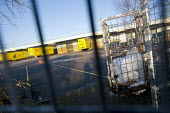 Empty City Link trailers, closed distribution centre, Coventry - John Harris - 30-12-2014