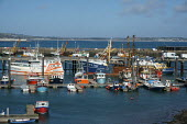 Fishing boats, Newlyn harbour, Cornwall - John Harris - 26-03-2015