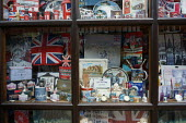 The Souvenir Shop, Stratford Upon Avon. - John Harris - 2010s,2015,figure figures,flag,FLAGS,flags flags,holiday,holiday maker,holiday makers,holidaymaker,holidaymakers,HOLIDAYS,maker,makers,memorabilia,people,person,persons,retail,RETAILER,RETAILERS,RETAI