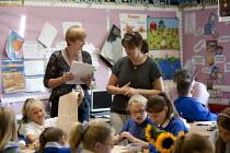 Primary school, St Richards First School, Evesham, Worcestershire - John Harris - 06-07-2015