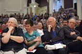 Jeremy Corbyn Rally Nottingham Michael White Guardian journalist - John Harris - 20-08-2015