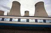 Railway and power station Ratcliffe-on-Soar Midlands - John Harris - Cooling Towers,2010s,2015,carriage carriages,EBF Economy,network,Power Station,public,RAIL,railway,RAILWAYS,service,service services,services,station,STATIONS,train,trains,transport,transportation,tra