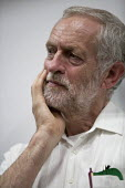 Q&A with Jeremy Corbyn candidate for Labour Party leader, Leicester - John Harris - 2010s,2015,campaign,campaigning,CAMPAIGNS,candidate,CANDIDATES,DEMOCRACY,election,ELECTIONS,Labour Party,leader,leadership,Left,left wing,Leftwing,Leicester,meeting,MEETINGS,MP,MPs,Party,POL,political