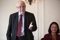 Kelvin Hopkins MP speaking NO TO EU, NO TO TTIP, TUC conference Brighton - John Harris - 15-09-2015