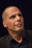 Yanis Varoufakis, Economist and former Greek Finance Minister, PCS meeting FIGHTING FOR OUR FUTURE, THERE IS AN ALTERNATIVE TO AUSTERITY, TUC conference Brighton - John Harris - 13-09-2015